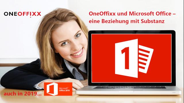 Vor wenigen Wochen hat Microsoft Office 2019 gelauncht. Nun ist auch der OneOffixx Vorlagensoftware Release erhältlich.