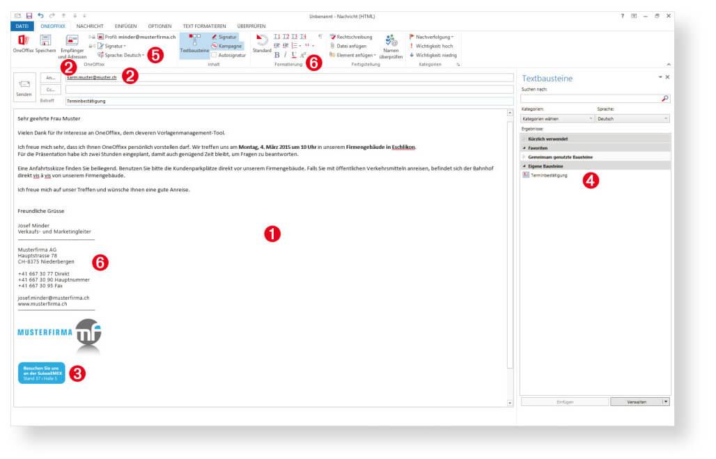 Outlook-Vorlagen 2