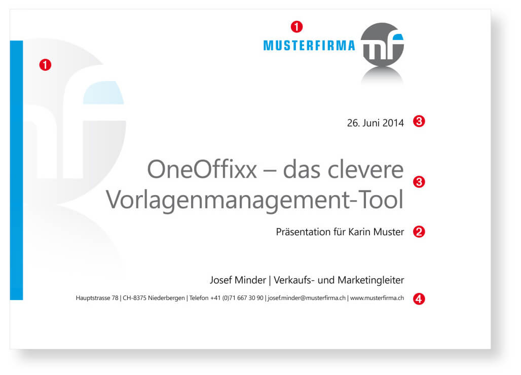 PowerPoint-Vorlagen von OneOffixx: Ihre 4 Benefits