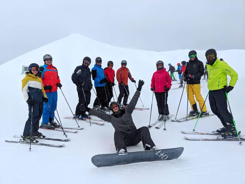 Das OneOffixx Ski-Weekend fand zum 10. Mal in Damüls statt.