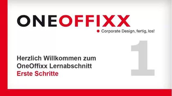 Lernvideo: Erste Schritte mit OneOffixx