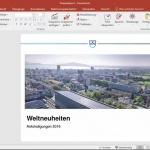 Video:  PowerPoint-Präsentationen in ein neues Format überführen