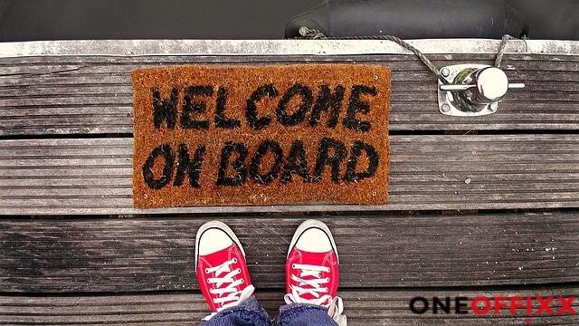 Bild Welcome on board